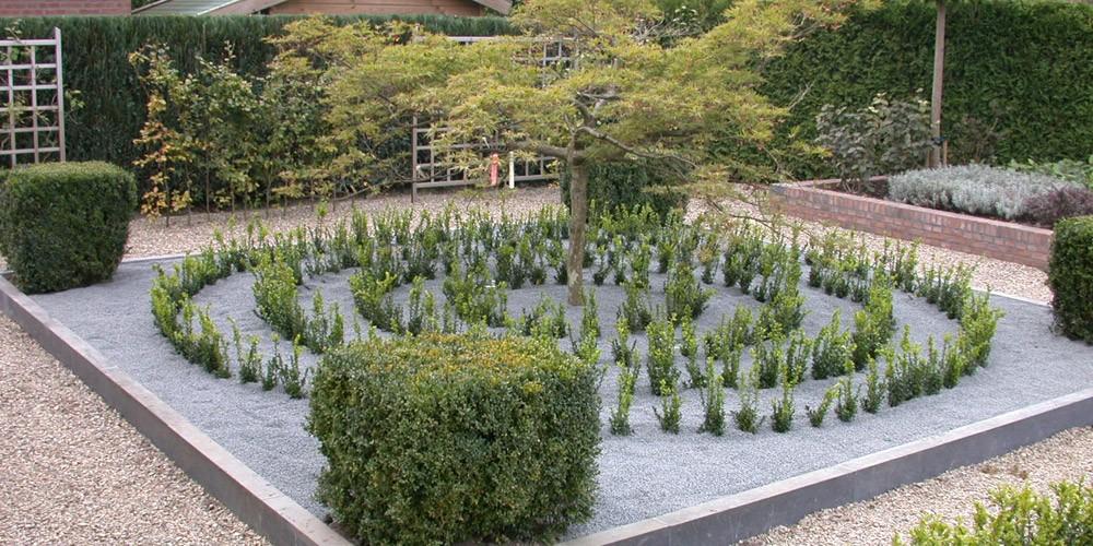 Ontwerp particuliere tuin - Tuin ontwerp foto ...